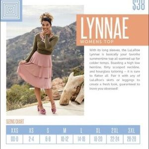 LuLaRoe Tops - LuLaRoe Lynnae